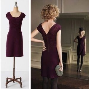 Anthropologie sparrow look back sweater dress